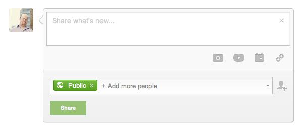 Google-Plus-Status-Update