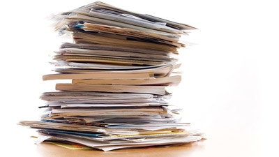 How to Tame the Piles of Paperwork