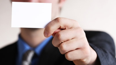 Can you recommend or help finding a software application that supports business card scanning?