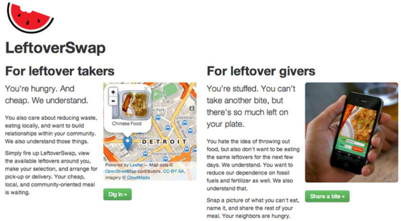 Leftover Swap