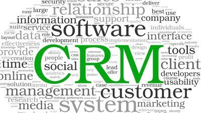 What CRM software should we use to help us track our relationships with current clients and prospects?