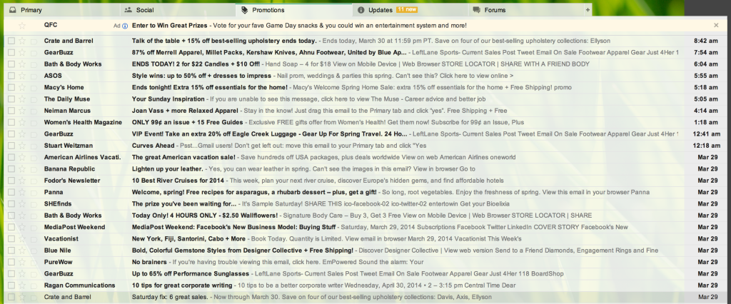 Gmail Before