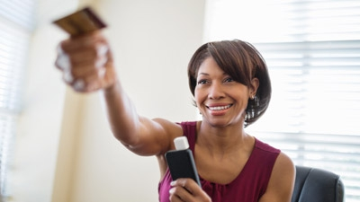 If I start taking debit cards, are there ways to use my phone and do it on the spot?
