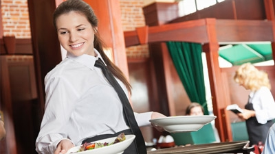 I am doing bookkeeping for a restaurant, are the tips received and reported by the waitress taxable for unemployment purposes?