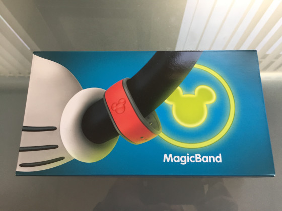 Disney MagicBands Packaging for children