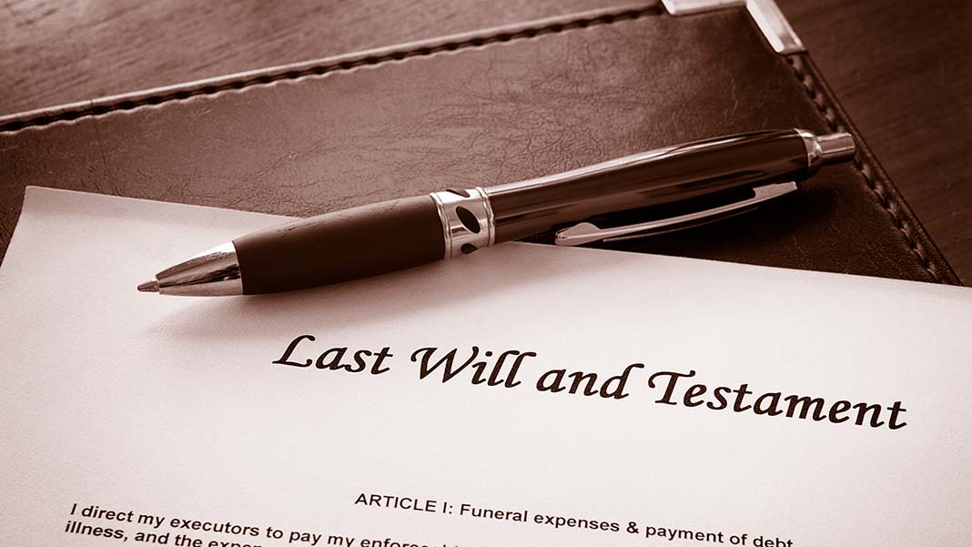 preparing a will At some point in your life, you will likely have assets and investments that you need to make arrangements for in the event of your passing you may also.