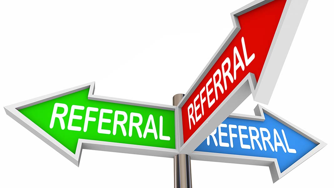 Referrals Don't Happen by Accident