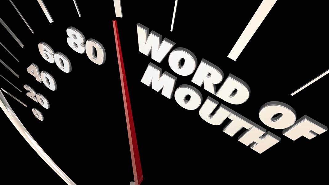 Word of Mouth Works: A Different Perspective