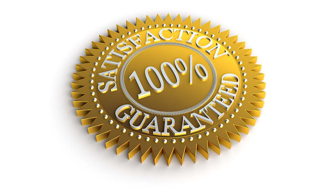 The Incredible, Undeniable Benefits of a 100% Money-Back Guarantee