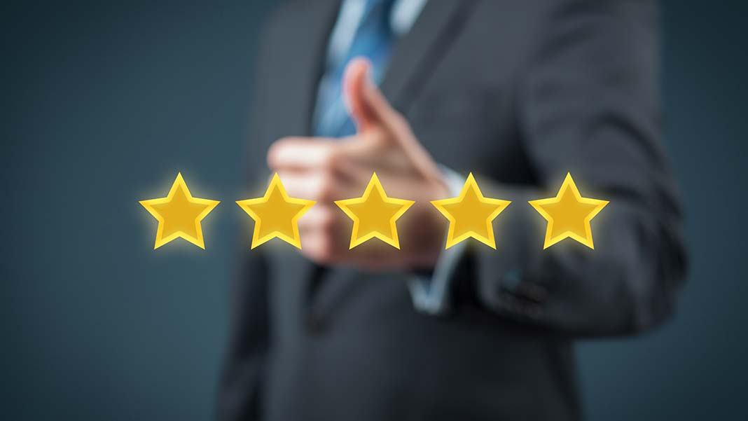 Online Reviews: The Value of 5 Stars to Your Business