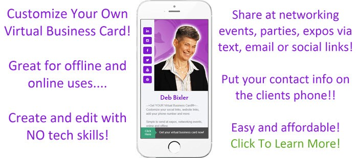 An entrepreneurs virtual business card smallbizclub check out minejust a quickie i made to show you try the free version or the pro for 14 days free colourmoves