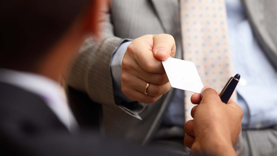 An Entrepreneur's Virtual Business Card