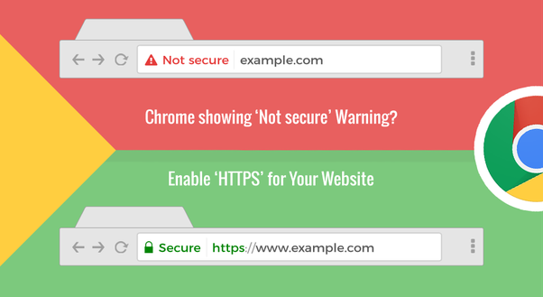 How to Fix the HTTPS Not Secure Error