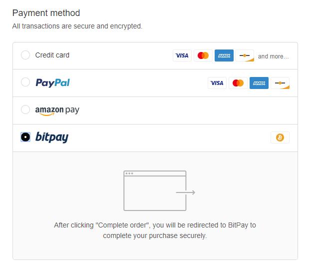 payment processor crypto