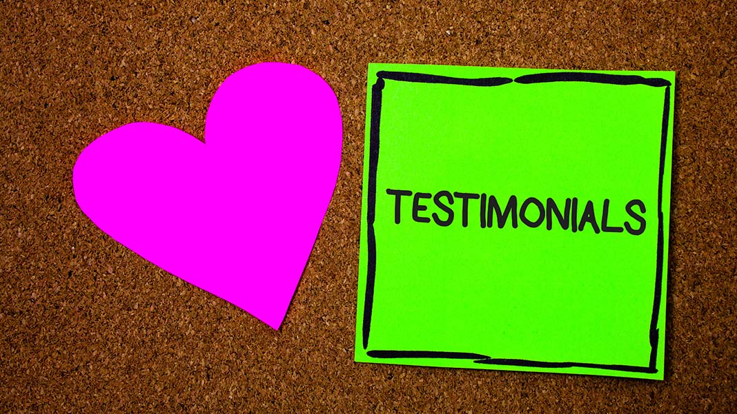 How to Get Even Greater Benefits from Testimonials
