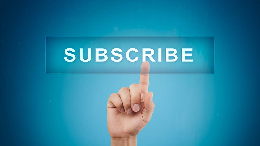 Do You Subscribe to the Subscription Trend?