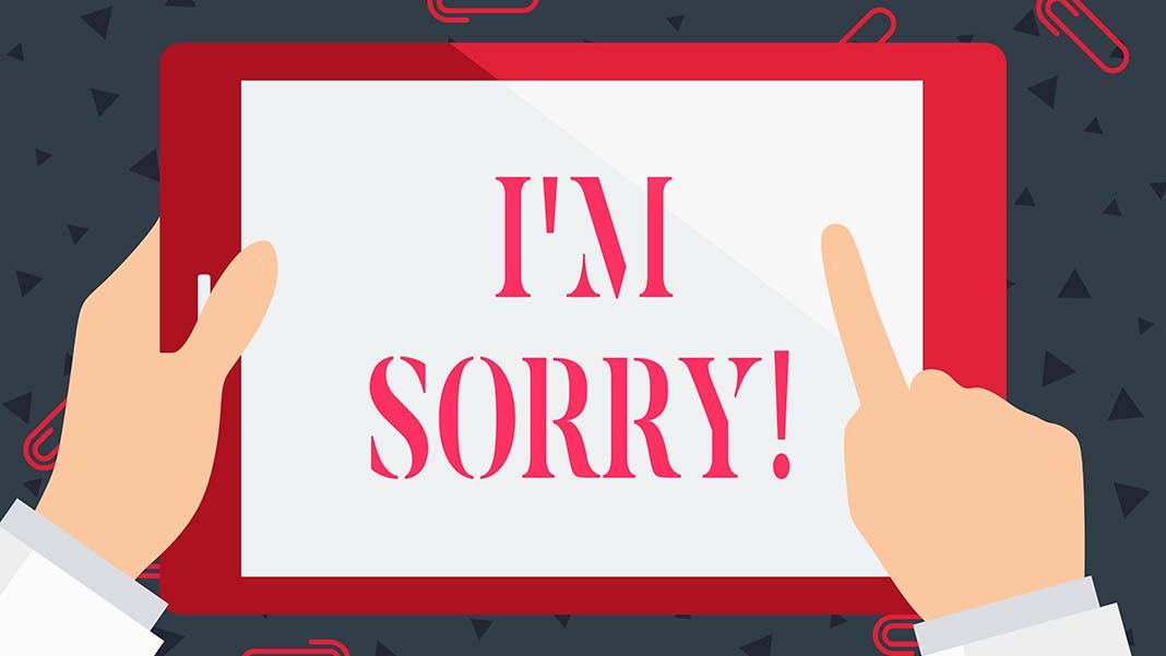 """How to Say """"I'm Sorry"""""""