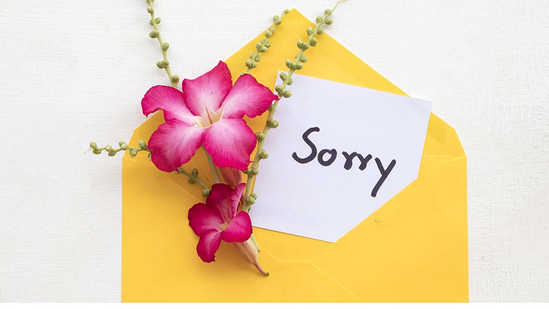 "The Era of ""We're Sorry"" Advertising"