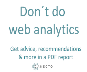 Canecto – analytics
