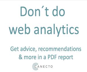 Canecto – analytics