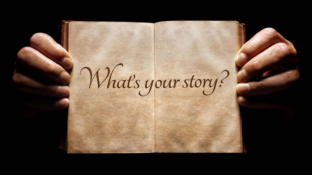 What's Your Story? Did Someone Else Create It?