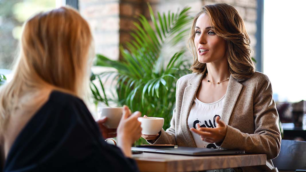 Lunch with Your CEO? Here's How to Prepare