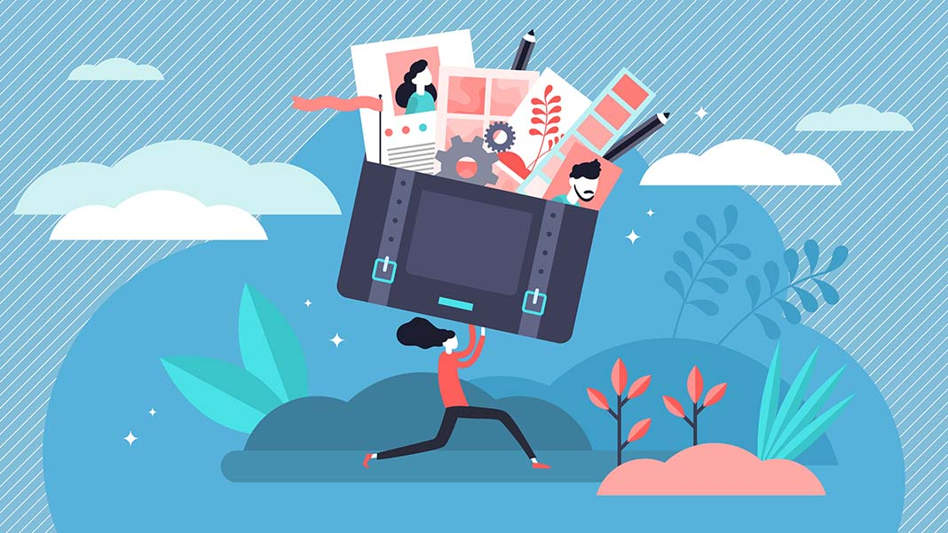 How To Organize Design And Present Your Work Portfolio Smallbizclub
