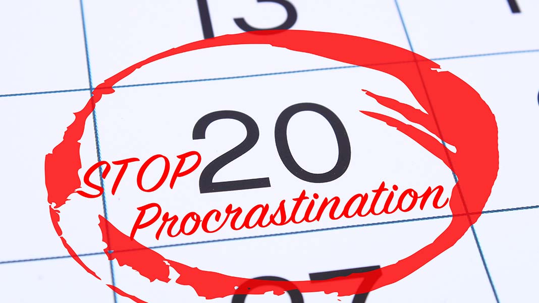 How to Stop Procrastinating: 5 Ways to Regain Control of Your Business and Your Life
