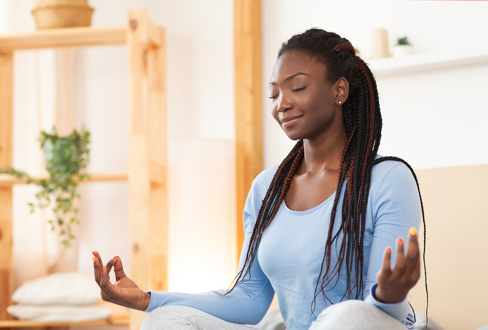 Meditation Mind-Calming In Hectic Times