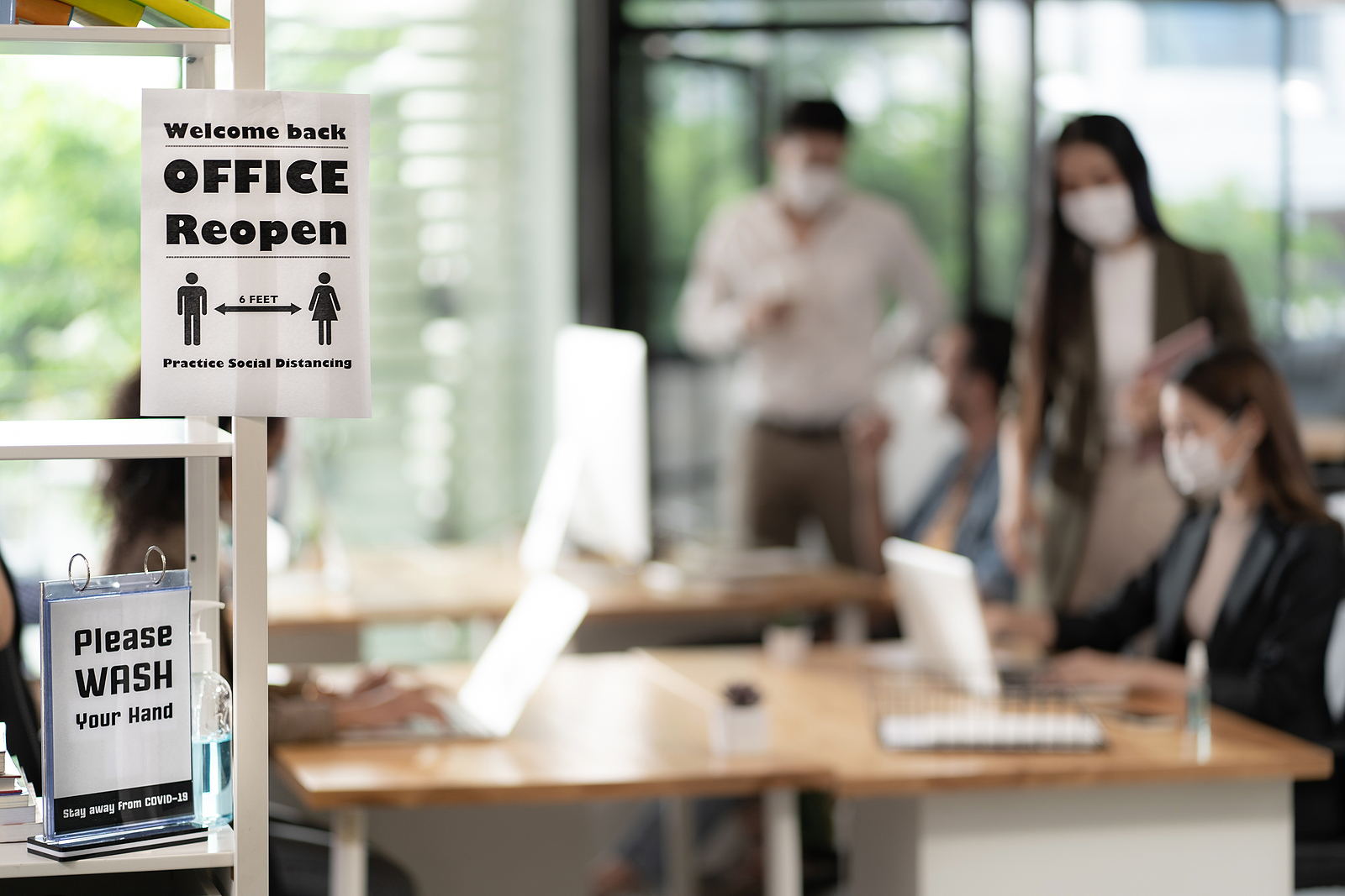 This is How to Get People Back in the Office Safely